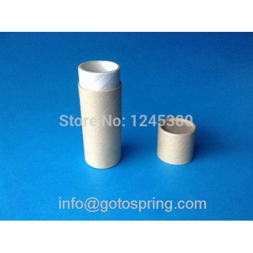 Push Up Paperboard Tube Lip Balm Tubes Cardboard Tube