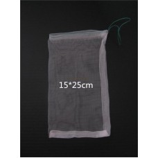 Eco-Friendly 15*25cm 40 Mesh Nylon bag,Fish Fruit wristband bag,Insect birds pest filter bag,Rice seed soaking,Seed storage bag ,pack of 100