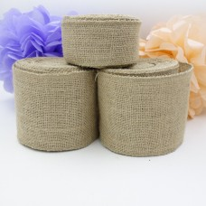 10M x 35cm Wide Natural Color Jute Burlap Roll For Country Rustic Wedding Decoration Table Runner DIY Crafts
