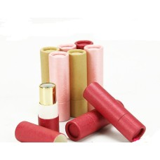 150pcs/lot Kraft paper Empty Elegant Lipstick Tube, High Class DIY Lip Balm Package, Empty Lip Rouge Sub Container SN1073
