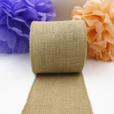15CM *10M Natural Jute Burlap Ribbon Roll For Country style home decoration