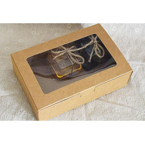 18125cm nice design natural kraft paper cake box kraft paper cake packaging