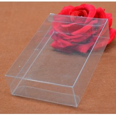 3*15*20cm clear pvc box without hanger plastic gift candy boxes packaging boxes