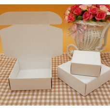 7.5*7.5*3cm blank white soap small cardboard boxes,small white paper box,candy gift boxes