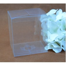 Cube gifts box packaging ,transparent clear pvc cake box,square candy packaging plastic box