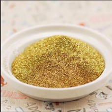 Metal gold color glitter powder Sequin Powder DIY For Nail Art Makeup Christmas gifts craft candles and so on