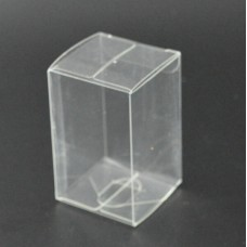 New 20pcs 4.5*4.5*5.5cm  Clear Plastic Gift Package Boxes Transparent Cosmetic Wedding Favor PVC Packaging Boxes
