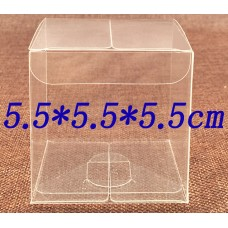 5.5*5.5*5.5cm, pvc plastic clear hanger box , clear plastic packing boxes , box gift packaging  PVC Invitation clear boxes for party favors, weddings, packaging