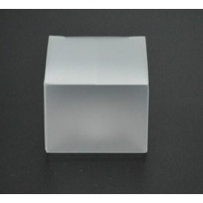 Frosted clear ,Matt Clear Plastic Tuck Top PVC Cupcake Wedding Party Boxes ,Size:5*5*5cm, favor box clear pvc , plastic clear cube boxes , plastic folding box ,