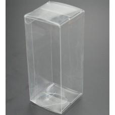 Clear Square Favor Box Size:6*6*16cm, pp plastic box , small pvc boxes , clear pvc boxes favors