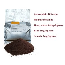 100g sub-packed Astaxanthin 10% Pet Food Aquatic Ornamental Fish Feed Additives