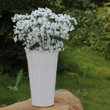12Pcs Artificial Plastic Gypsophila Baby's Breath Flower Plants Home Wedding Decor