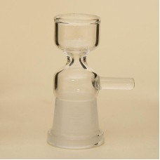 Assorted Glass Bowl With Handle style for glass water bong, Female Clear Bowl