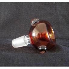 14/19mil Glass on Glass Bowls Amber , any color ,any size custom available
