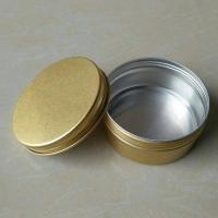 150g aluminum tin , 150ml metal pot , 5oz Aluminium Tin Jars With Screw Cap ,150 gram metal aluminum pots with screw lid