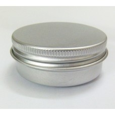 15g aluminium cream jars with screw lid,cosmetic case jar,15ml aluminum tins, aluminum lip balm container ,15ml pots