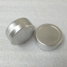 25g aluminium cream jars with slip lid,25ml aluminum tins, aluminum lip balm container ,0.9oz metal pots