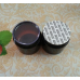 1 oz Amber Single Wall PET Plastic Jars with Black Twist Lids ,30ml Amber PET Heavy Wall Jars w/ Black Smooth Plastic Lined Caps