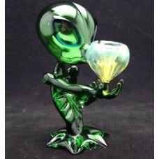 Alien Dcreative New Hookah Recycler Oil Rig & Percolator Glass