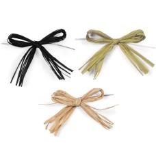 Hand Made Decorative Raffia Bows , Colorful paper raffia rope wholesale , Raffia Ribbon bulk custom design welcome