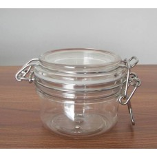 Glass JAR with wire clasp/clamp,Glass Jar with White Rubber Seal & Locking Metal Clasp