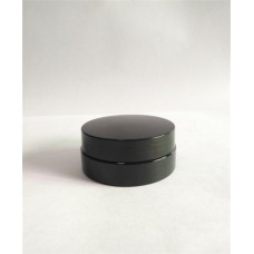 30ml Black plastic jar , black color face cream jar used for cosmetic container , cusotm made containers welcome