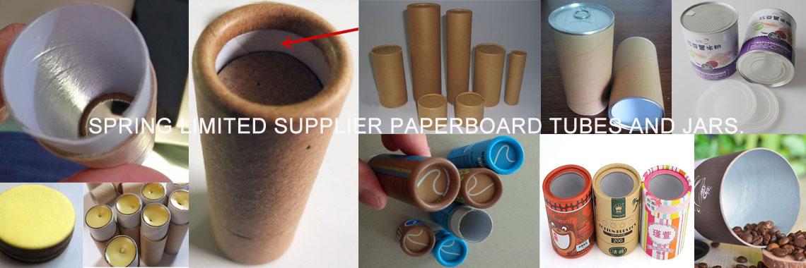 paperboard tube ,cardboard jar