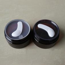 Rounded Flat Paddle Mini Plastic Cosmetic Spatulas