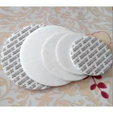 100mm Bottle/Jar Pressure Foam Safety Tamper Resistant Seals , Seal Cap Liners - Foam Safety Tamper Seals